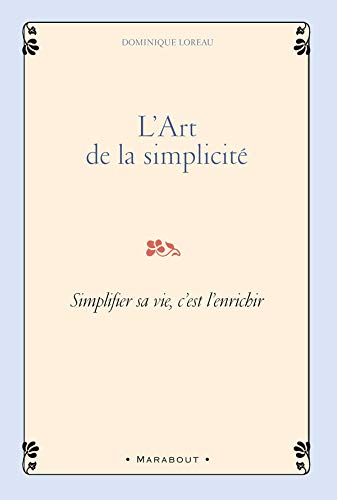 9782501054072: L'Art de la simplicité