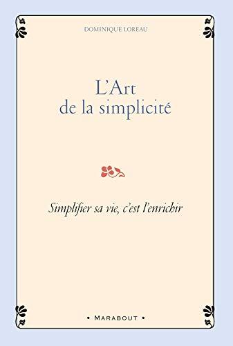 9782501054072: L'Art de la simplicit�