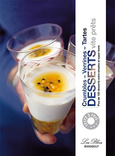 9782501057882: Desserts vite prêts : Crumbles, verrines, tartes