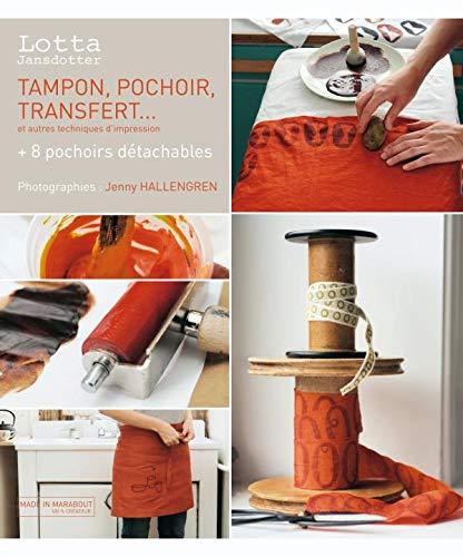 9782501059374: Tampon, pochoir, transfert et autres techniques d'impression (French Edition)