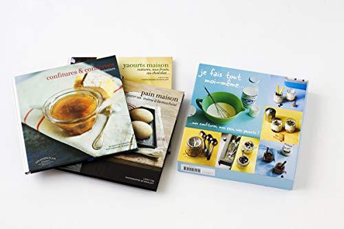 9782501062039: Coffret en 3 volumes Je fais tout moi-même : Mes confitures, mon pain, mes yaourts !