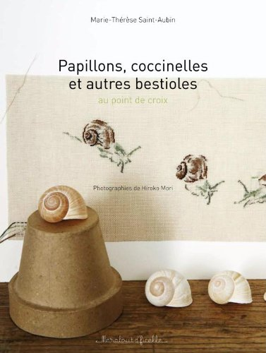 9782501065429: Papillons, coccinelles et autres bestioles au point de croix (French Edition)
