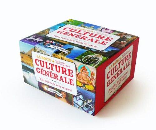 9782501070041: La boîte à culture générale