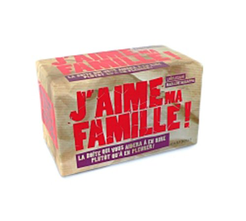 9782501071437: J'aime ma famille ! (French Edition)