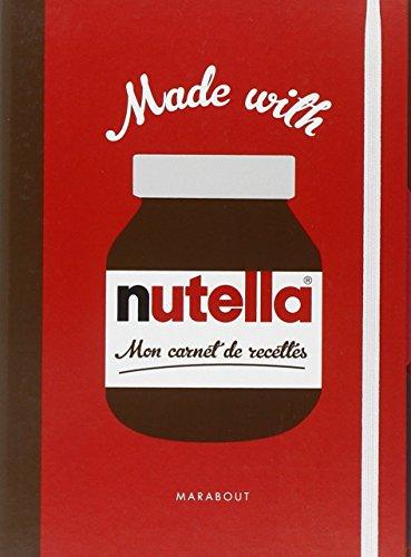 9782501073073: Mon carnet de recettes Nutella