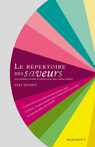 9782501075053: Le répertoire des saveurs (Cuisine)