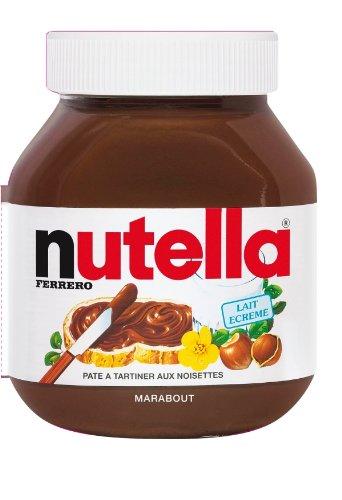 9782501076227: Livre forme Nutella