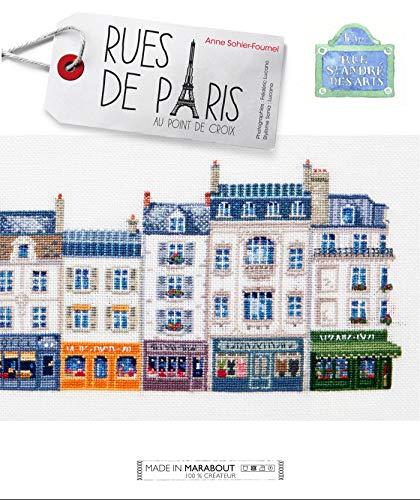 9782501078818: Rues de Paris au point de croix (Loisirs créatifs)
