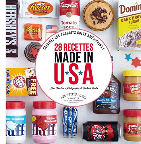 9782501080521: 28 recettes made in U S A