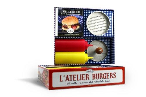 9782501081245: Coffret L'atelier burgers