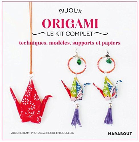 9782501085854: Bijoux origami, le kit complet