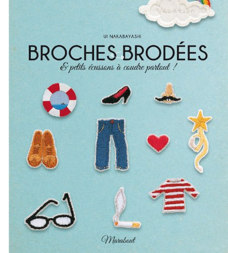 9782501087094: Broches brodées