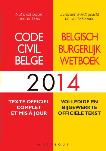 9782501088053: Code civil belge 2014