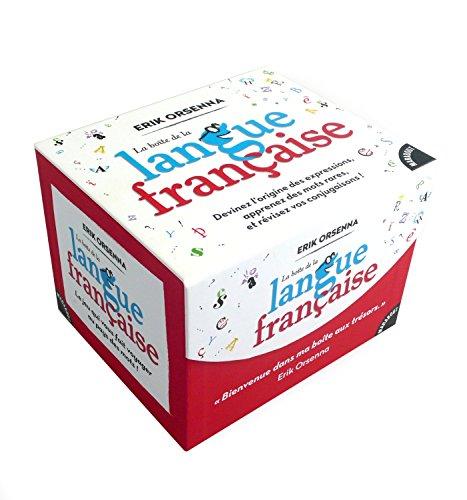 9782501092876: La boîte de la langue française