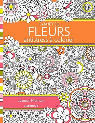 9782501096942: CARNET DE FLEURS ANTISTRESS A COLORIER