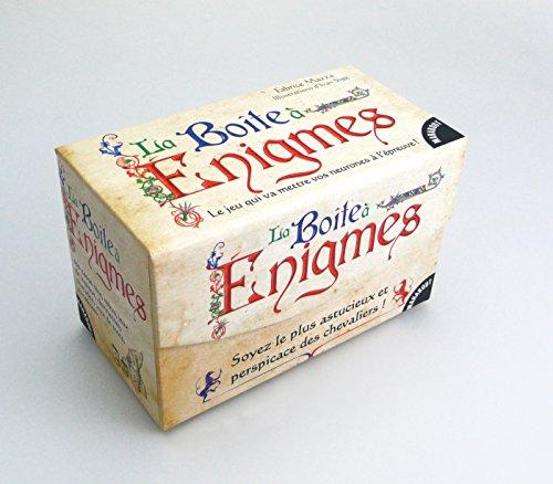 9782501097772: Boîte à énigmes