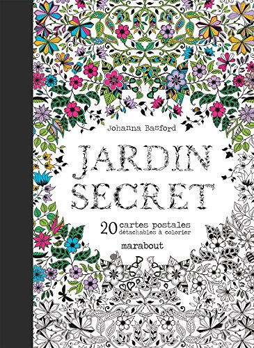 9782501099899: Cartes postales Jardin secret