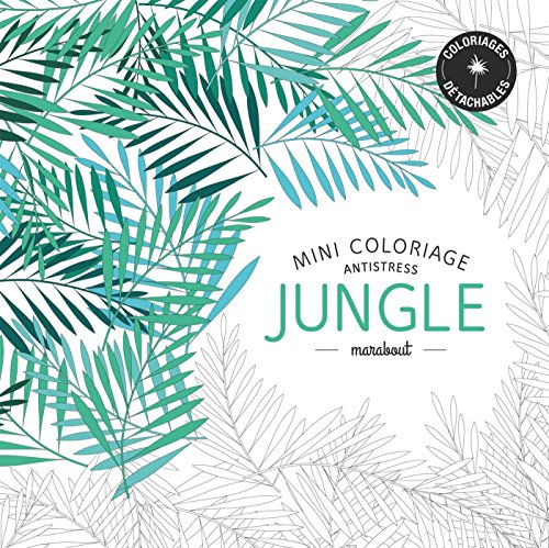 9782501100571: Mini coloriage antistress «Jungle»