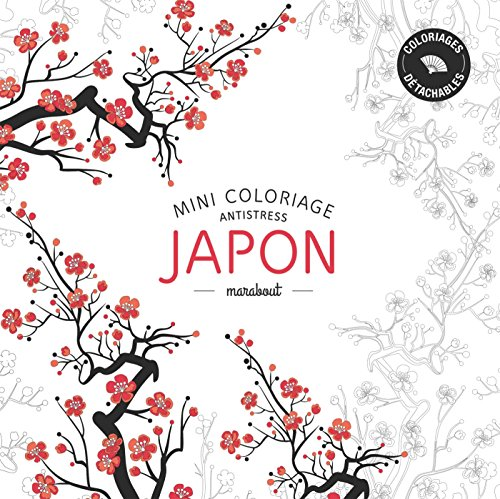 9782501100632: Mini coloriage antistress Japon (French Edition)