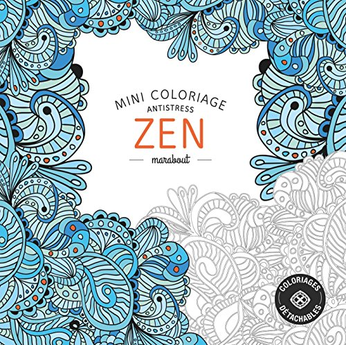 9782501101066: Mini coloriage anti stress zen (French Edition)