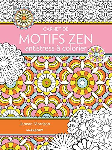 9782501101455: Carnet de Motifs zen antistress à colorier