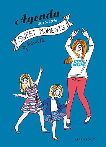 9782501104494: Agenda Sweet Moments 2015-2016