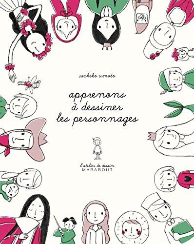 9782501109949: L'atelier de dessin Marabout - Les personnages