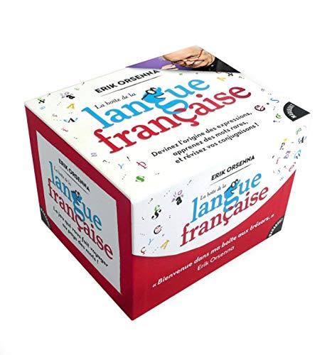 9782501110020: La boîte de la langue française (Jeux)