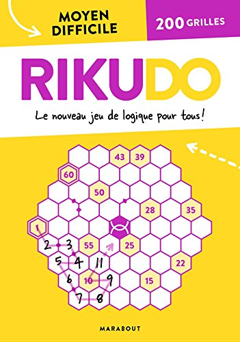 9782501116947: Rikudo moyen-difficile
