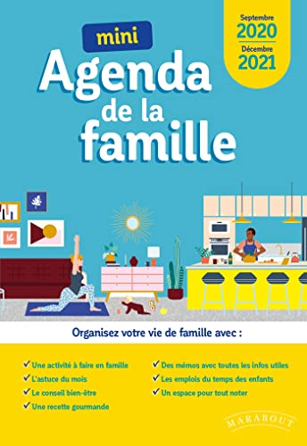 9782501141994: Mini Agenda de la famille 2019-2020