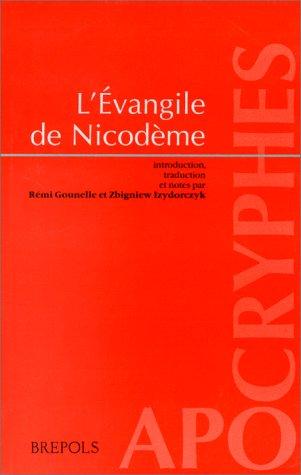 9782503505817: L'Evangile de Nicodème