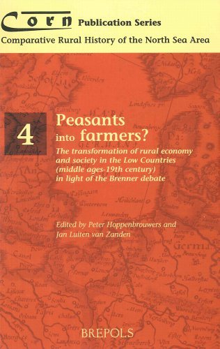 9782503510064: Peasants into Farmers?: The Transformation of Rural Economy and Society in the Low Countries (Middle Ages - 19th Century) in Light of the Brenner ... RURAL HISTORY OF THE NORTH SEA AREA)