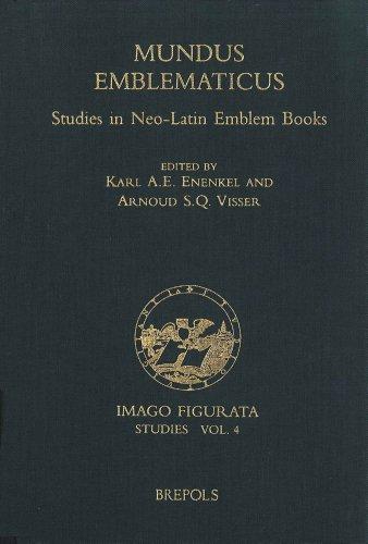 9782503512020: Mundus Emblematicus: Studies in Neo-Latin Emblem Books (Imago Figurata. Editions)