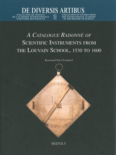 A Catalogue Raisonné of Scientific Instruments from: Cleempoel (Koenraad von)