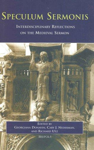 Speculum Sermonis: Interdisciplinary Reflections on the Medieval Sermon (Hardback)