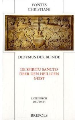 9782503521404: De spiritu sancto - Über den heiligen Geist