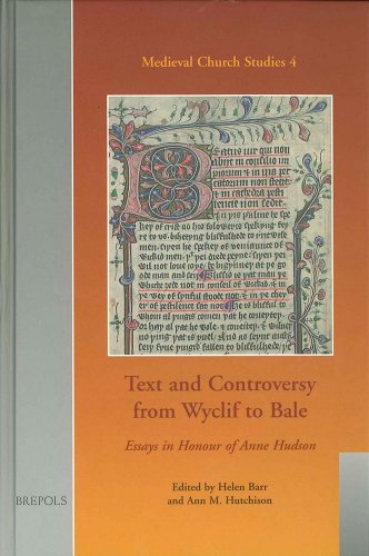 9782503522098: Text and Controversy from Wyclif to Bale: Essays in Honour of Anne Hudson (MEDIEVAL CHURCH STUDIES)