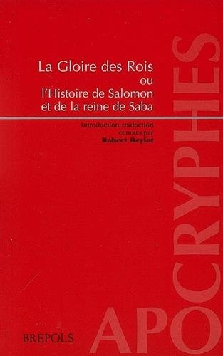 9782503523583: Roi Salomon et la reine de Saba (French Edition)