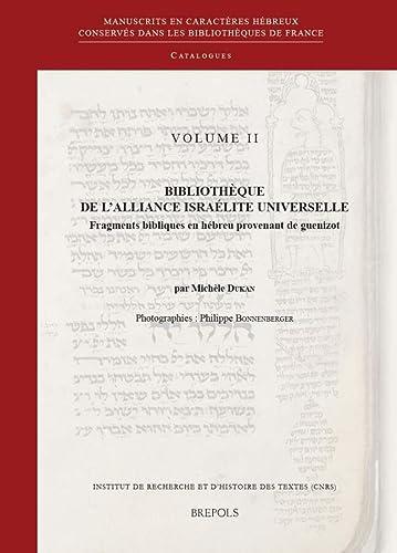 9782503529226: Bibliothèque de l'Alliance Israélite Universelle. Fragments bibliques