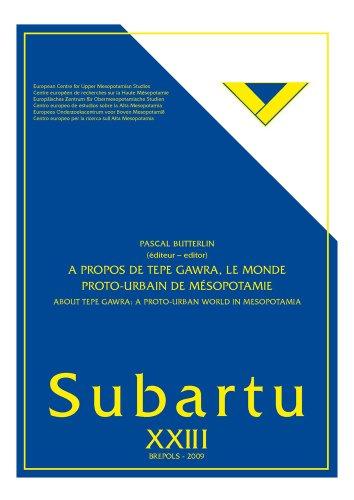 9782503530024: A propos de Tepe Gawra : le monde proto-urbain.