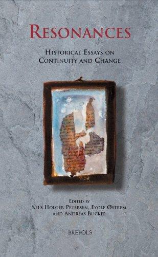 Beispielbild für Resonances. Historical Essays on Continuity and Change. zum Verkauf von Plurabelle Books Ltd