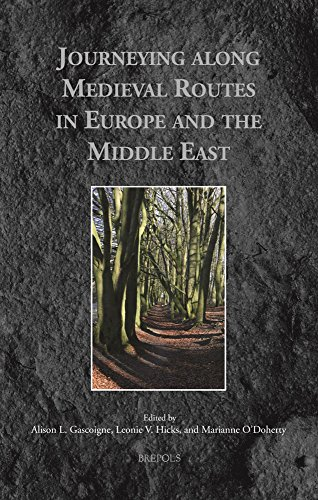9782503541730: Journeying along Medieval Routes in Europe and the Middle East (Medieval Voyaging)