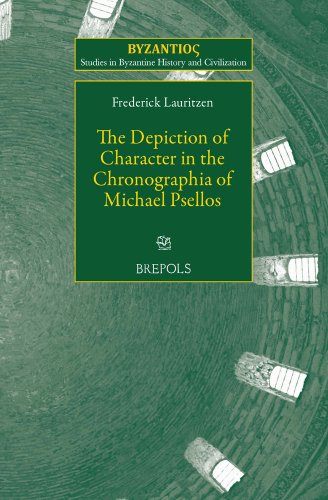 9782503548418: The Depiction of Character in the Chronographia of Michael Psellos