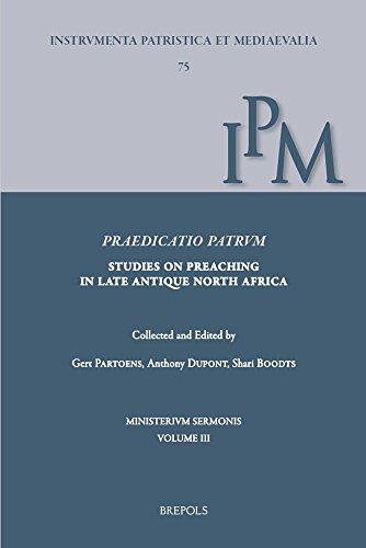 9782503570174: Praedicatio Patrum: Studies on Preaching in Late Antique North Africa