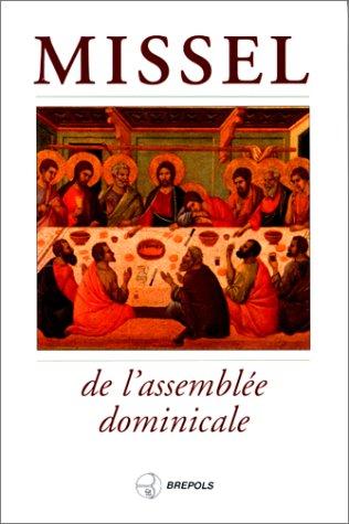 Missel de l'assemblée dominicale: Collectif