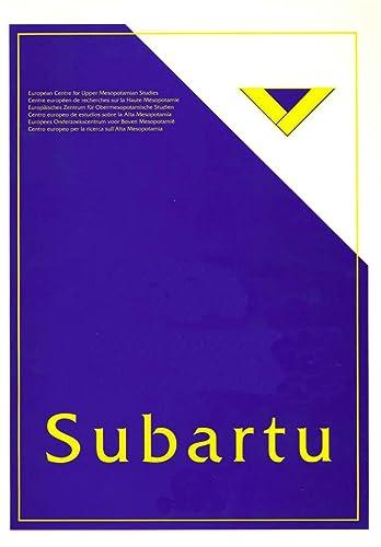 Tell Beydar, The 1995-1999 SUBARTU 10 A Preliminary Report
