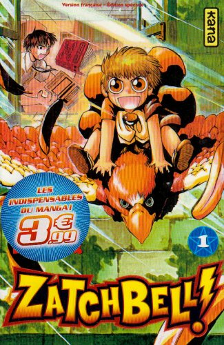 9782505006503: Zatchbell !, Tome 1 :