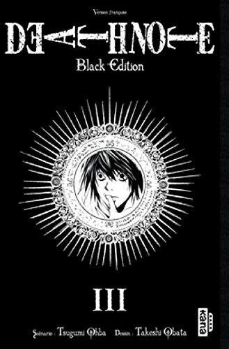 9782505009986: DEATH NOTE BLACK EDITION, tome 3