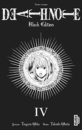9782505010326: DEATH NOTE BLACK EDITION, tome 4