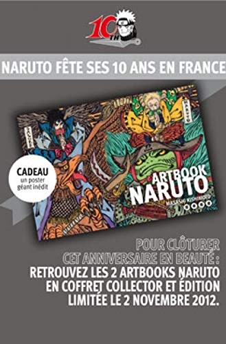 9782505016403: Naruto Artbooks : Coffret 2 volumes